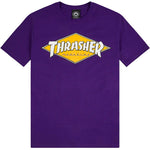 Thrasher Diamond Logo Tee (Purple)