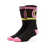 Odd Future Donut Crew Socks (Black)