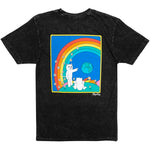 RIPNDIP Earthgazing Tee (Black Mineral Wash)