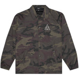 HUF Essentials TT Coaches Jacket (Woodland)