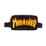 Thrasher Flame Fleece Waist Bag