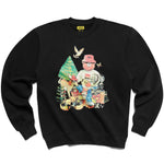 Chinatown Market Smiley Friends Sweatshirt (Black)