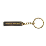 HUF Fuck It Keychain (Gold)