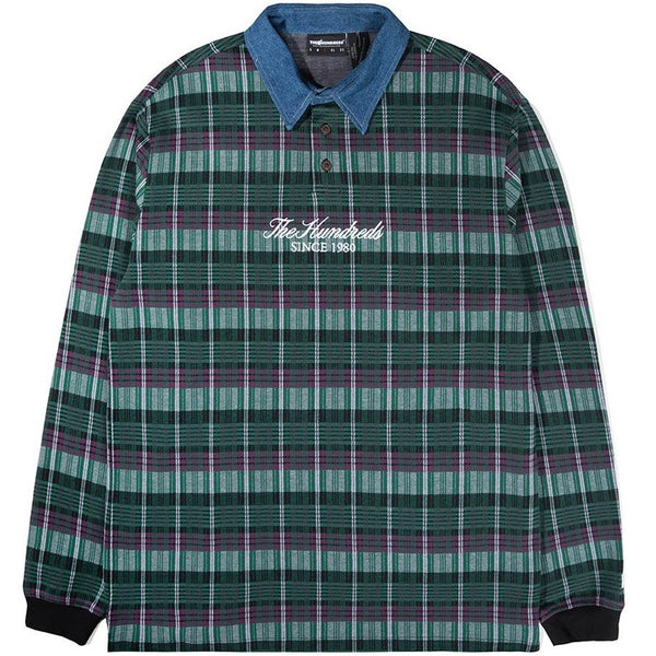 The Hundreds Gleason L/S Polo