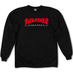 Thrasher Godzilla Sweatshirt (Black)