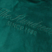 Teller Velour Tee (Hunter Green)