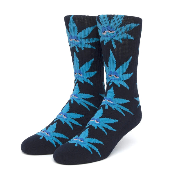 HUF Green Buddy Strain Socks (Navy)