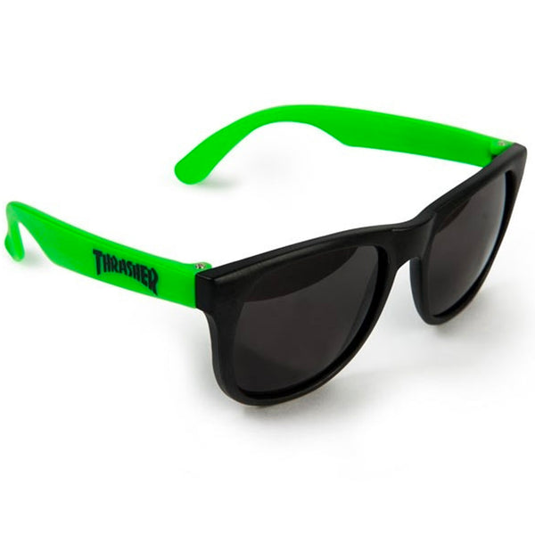 Thrasher Sunglasses (Neon Green)