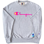 Champion Reverse Weave Sweatshirt (Oxford Grey)