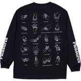 PLEASURES Touch LS Tee (Black)