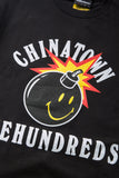 Chinatown Market X The Hundreds Happy Adam Tee (Black)