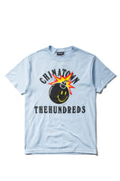 Chinatown Market X The Hundreds Happy Adam Tee (Powder Blue)