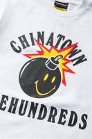 Chinatown Market X The Hundreds Happy Adam Tee (White)