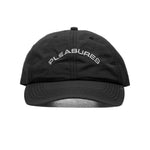 PLEASURES Nylon Cap (Black)