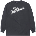 The Hundreds Forever Slant Logo L/S (Charcoal Heather)