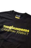 Chinatown Market X The Hundreds Bar Logo Tee (Black)