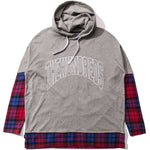 The Hundreds Ivan Hooded Shirt (Grey)