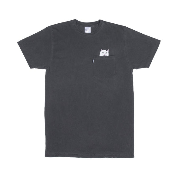 RIPNDIP Lord Nermal Pocket Tee (Over Dyed Black)