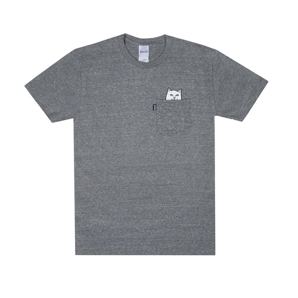RIPNDIP Lord Nermal Pocket Tee (Gray)