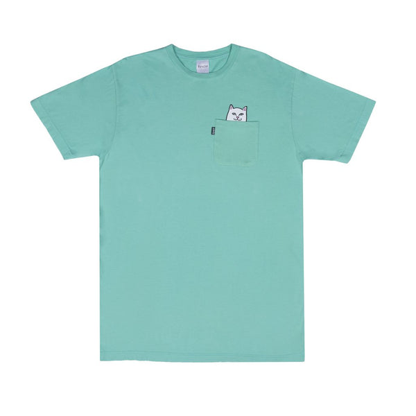 RIPNDIP Lord Nermal Pocket Tee (Over Dyed Mint)