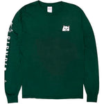 Lord Nermal Pocket L/S Tee (Dark Green)