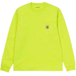 Carhartt WIP L/S Pocket Tee - Lime