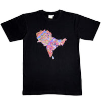 Brown History Homeland Tee (Black)