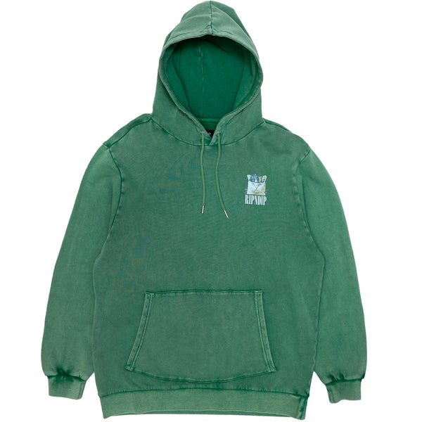 RIPNDIP Masterpiece Hoodie (Hunter Mineral Wash)