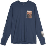 Stussy Great Outdoors LS Tee (Navy)