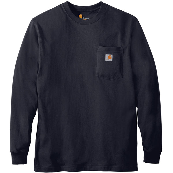 Carhartt Workwear Pocket LS Tee (Navy)