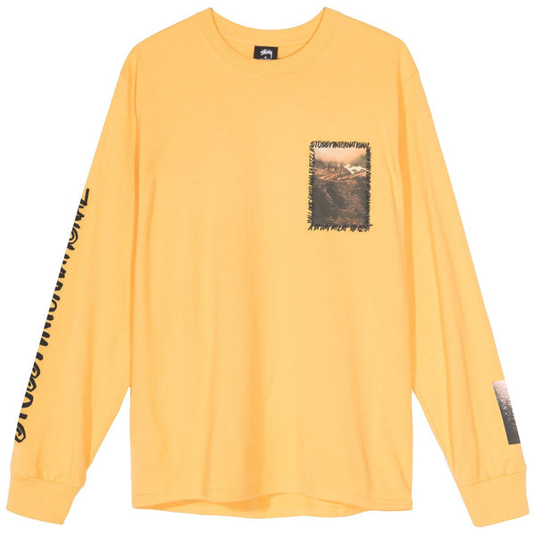 Stussy Great Outdoors LS Tee (Orange)