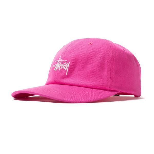 Stussy Stock Low Pro Cap (Pink)