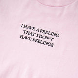 The Hundreds Feelings Tee  (Pink)