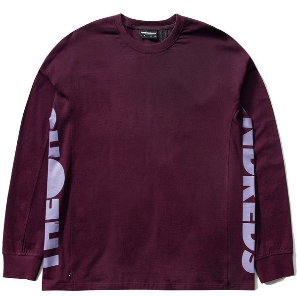 The Hundreds Sideshow L/S T Shirt (Purple)