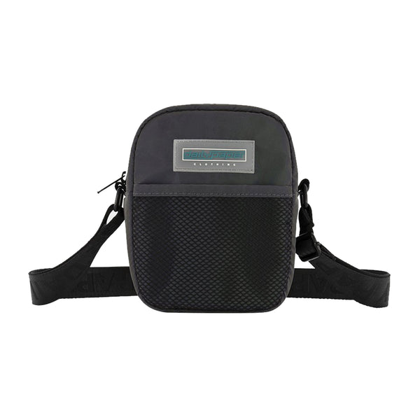 Daily Paper Reflective Shoulder Bag (Purple)