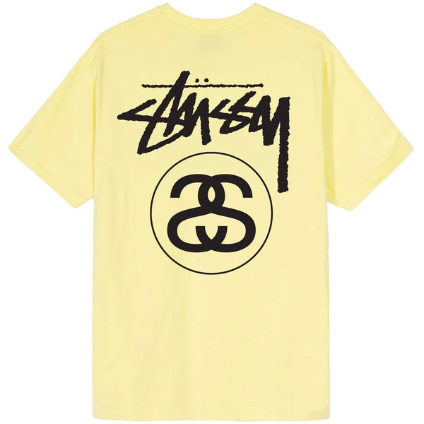 Stussy Stock Link Tee (Yellow)