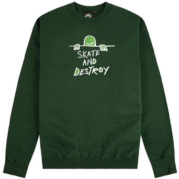 Thrasher Gonz S.A.D. Logo Sweatshirt (Forest Green)
