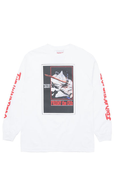 THE HUNDREDS X FRIDAY THE 13TH SCREAM L/S T-SHIRT