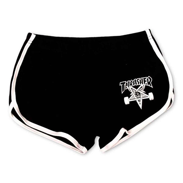Girls Thrasher Skate Goat Shorts