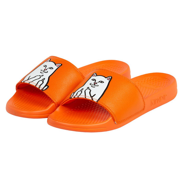 RIPNDIP Lord Nermal Slides (Safety Orange)