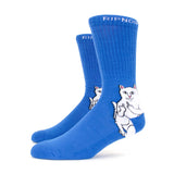 RIPNDIP Lord Nermal Socks (Royal Blue)