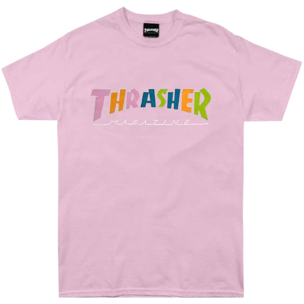 Thrasher Hometown 70s Tone S/S Tee (Pink)