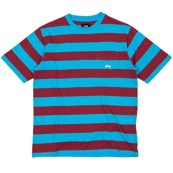 Stussy Range Stripe Pocket Tee