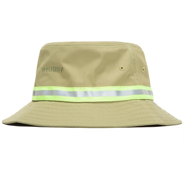 Stussy Reflective Tape Bucket Hat