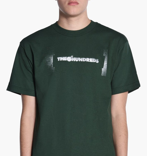 The Hundreds stencil bar tee