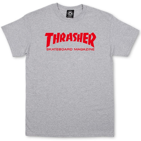 Thrasher Skate Mag Tee (Grey/Red)