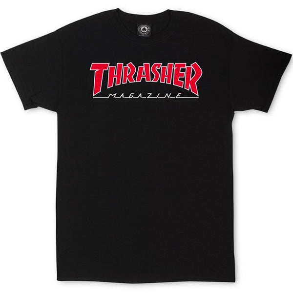 Thrasher Outlined Tee (Black)