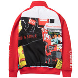 Staple X Coca-Cola 'Coke' Collage Track Jacket