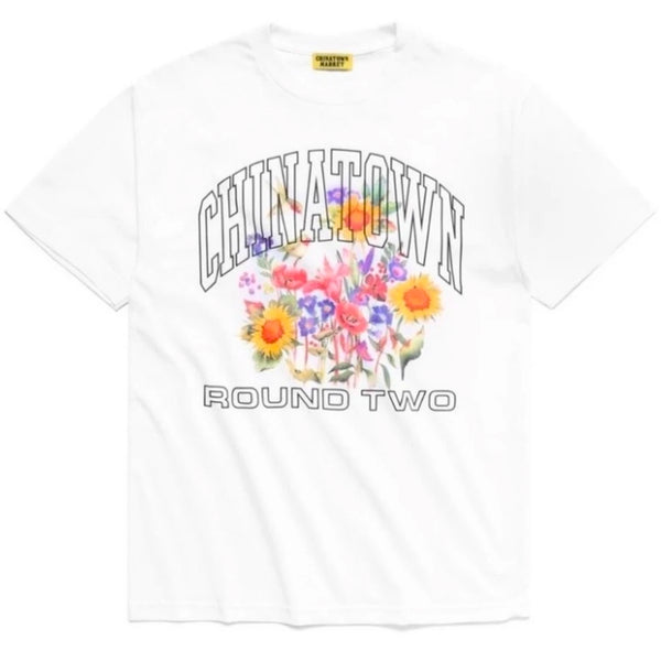 Chinatown Market x Round Two UV Flower Tee