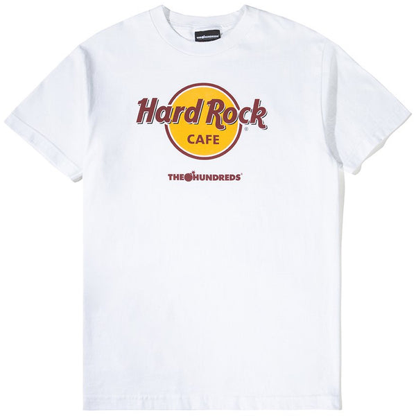 The Hundreds x Hard Rock Cafe Tee (White)